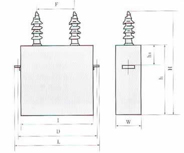 )电力系统中,用于提高功率因数,改善电压质量,降低线路损耗。 技术与性能指标: 详细规范:GB 3983.2-89 环境温度:-40℃~+40℃ -25℃~+45℃ -5℃~+40℃ -5℃~+50℃ 电容量允许偏差: