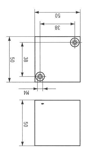 CBB80B型高压交流金属化聚丙烯电容器尺寸图
